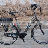 lady 700CC Dutch style e bike with bafang central motor max system 36V 250W front and rear roller brake best selling model