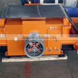 Suspension wind cooling overband belt electro magnetic separator