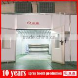 CE approved high quality furniture spray booth from professional factory(customized service,one year guarantee)
