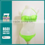 New Arrival 2015 Fashion Sex Swimsuit Women Bikini Swimwear Outdoor Sex Sports Bikini Bathing Suit Beach Wear