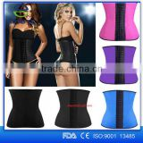 2016 hotsale adjustable waist trainer corset for sport weight lose