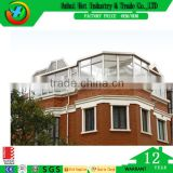 Big House Top Story Waterproof Window Double Glass Fashion Window Decorative Wooden Window Mirror Design