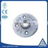 "1/2"" and 3/4"" malleable iron galvanized floor flange"