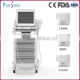 CE CE Approval Wrinkle Removal Facial Clinic Massage Hifu Ultrasound Multi-functional Beauty Equipment