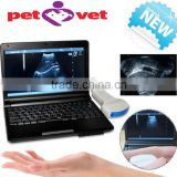 10 inch laptop Veterinary / vet Ultrasound Scanner with 3.5MHz Convex Probe for Equine, Bovine, Swine, Sheep, Cat, Dog