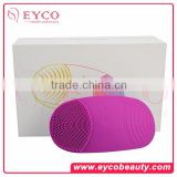 Rechargeable Facial Cleansing Brush Massager exfoliating machines for the face Silicone Face Wash Cleaner