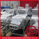 feed pallet machine/stretch pallet wrapping machine/semi-automatic pallet strapping machine 008617698060688