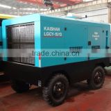 portable gas station!!mining safe high efficiency diesel engin screw air compressor LGCY-17/7 rock drill drill rig