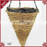 Home Chain Flexible Decor Garden Pot Plant plastic hanging basket pots