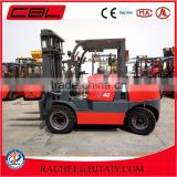 China automatic transmission 4ton diesel engine forklift truck