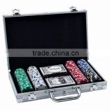 200pcs Poker Set In Aluminum Case