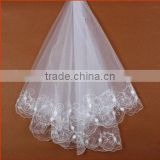 snow white dress wedding veil long, muslim wedding veils, glass veil