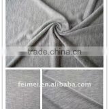 All greymarl slub rayon without elasticity PD knitted fabric