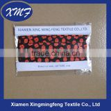 flower printed fold elastic tape