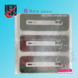 Wet inlay RFID label