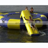 HI CE hot sale mini 20ft inflatable water trampoline kids for bungee trampoline