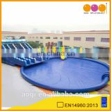 2015 hot sale giant commercial use inflatable floating water park for Aqua park