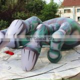 green Inflatable hands skeleton/halloween hands skeleton
