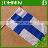 wholeslae hot sale durable custom any logo hand held promotional flag
