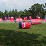 Cheap Inflatable Paintball air Bunker paintball field bunked on sale