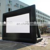 Hot sale commercial grade vinyl tarpaulin advertise inflatable outdoor movie screen