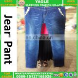 wholesale cheapset used women braces jean second hand braces jean