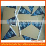 cheap triangle polyester bunting