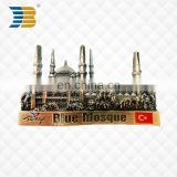 high quality custom metal castle Refrigerator magnet