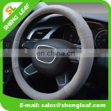 Eco friendly heated silicone car steering wheel cover