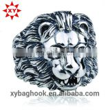 Wholesale good quality lion king ring for man