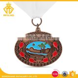 Custom Soft Enamel Sport Medal for Pickleball Tournament