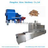 Microwave Tenebrio Molitor Drying Machine Insect Mealworm Dryer Continuous Mesh Dryer Fish Shrimp Dryer