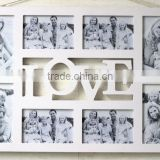 Beautiful&new Love style Photo frame for 8pcs photo paper for decorative house and memory of your family