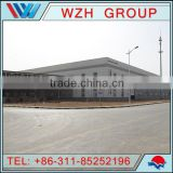 prefabricated steel structure building / steel structure for car parking , workshop , warehouse