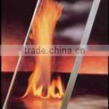 5-15mm frameless fire rated tempered glass for windows