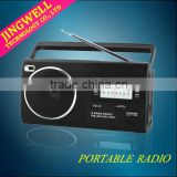 Portable Fm Am Sw 4 Bands Radio With Mp3 Player