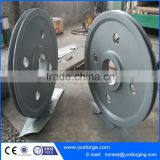 Marine stainless steel pulleys/ elevator pulley sheave