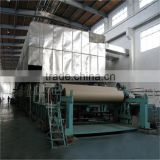 high speed fouridrinier multi-dryer corrugated paper machine test liner paper machinei n chin