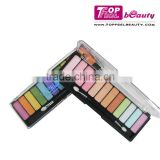 12 color cheap eyeshadow palette private label cosmetics brand name makeup