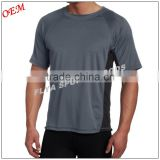 Custom printed blank gym T shirt train running OEM & ODM Piece dyeing process T shirts