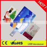promotional gift credit card usb pen with OEM logo