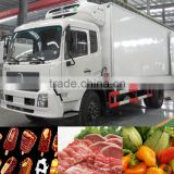 Refrigerated equipments truck bodies new condition refrigerated van truck