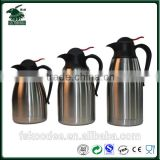 Hot Selling Stainless Steel Thermal glass Flask/ Coffee glass Flask/ Thermal glass flask
