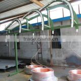 High speed copper tube straightening and cutting machine/high quality wire rod condenser machine