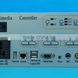 Teaching central audio video signal multimedia controller for education learning projector