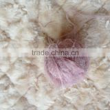 100%nylon feather fancy yarn pattern for knitting scarf