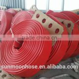 "Working pressure 150psi/420psi TPU lay flat hose,4"",6"",8"",10"",12"", ,equiped with fittings,"
