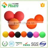 Silicone Massage crossfit rehab physio therapy Single & Double peanut lacrosse massage ball                                                                         Quality Choice