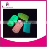 high quality silicone key cover glow in dark