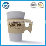Custom disposable paper coffee cup sleeve with handle                                                                         Quality Choice